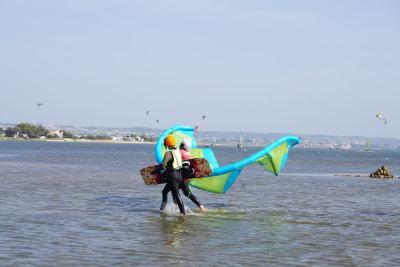 kitesurfing sicily lesson